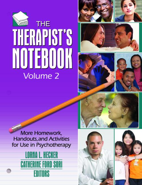 Therapist's Notebook Homework, Handouts, and Activities for Use in Psychotherapy (2 volumes) book cover