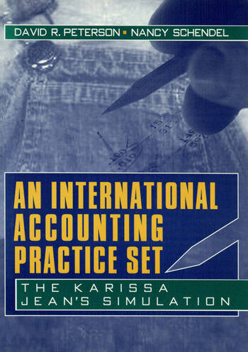 An International Accounting Practice Set The Karissa Jean's Simulation book cover