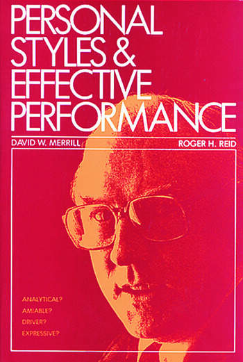 Personal Styles & Effective Performance book cover