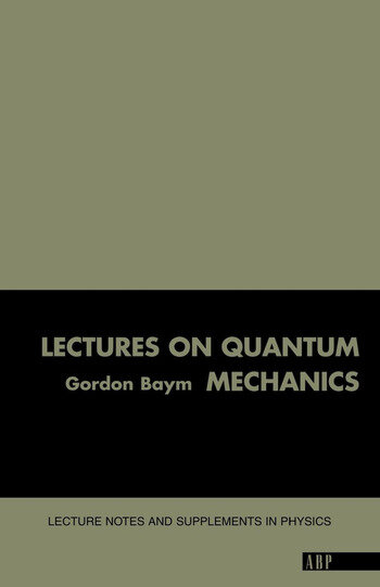 Lectures On Quantum Mechanics book cover