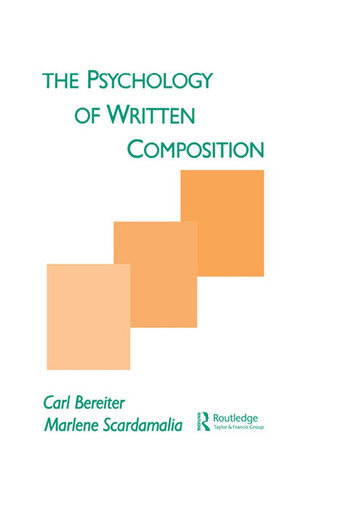 The Psychology of Written Composition book cover