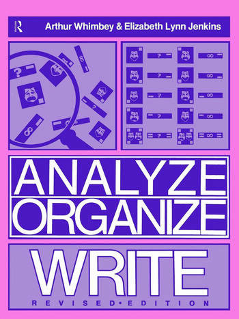 Analyze, Organize, Write book cover