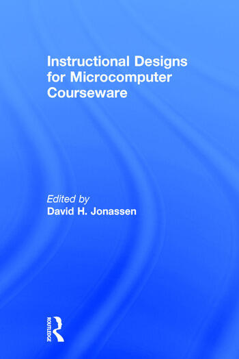 Instruction Design for Microcomputing Software book cover