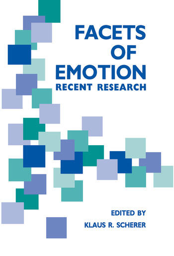 Facets of Emotion Recent Research book cover