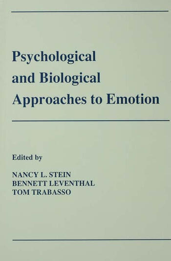 Psychological and Biological Approaches To Emotion book cover