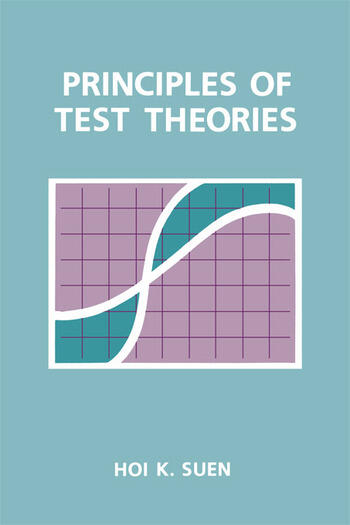 Principles of Test Theories book cover