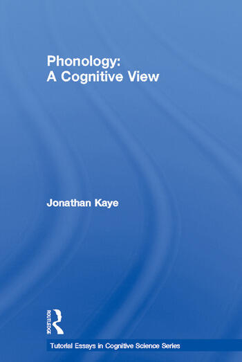 Phonology A Cognitive View book cover
