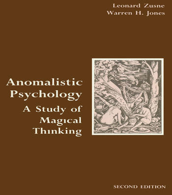 Anomalistic Psychology A Study of Magical Thinking book cover