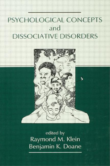 Psychological Concepts and Dissociative Disorders book cover