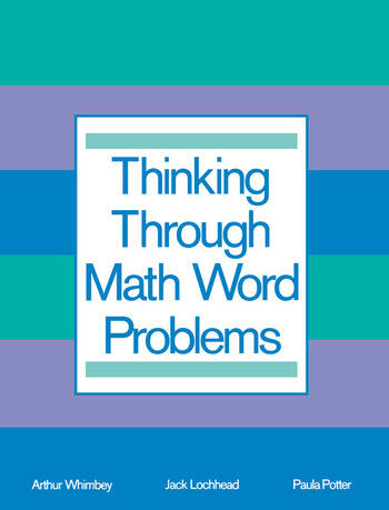 Thinking Through Math Word Problems Strategies for Intermediate Elementary School Students book cover