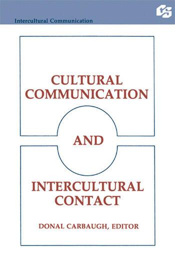 Cultural Communication and Intercultural Contact book cover
