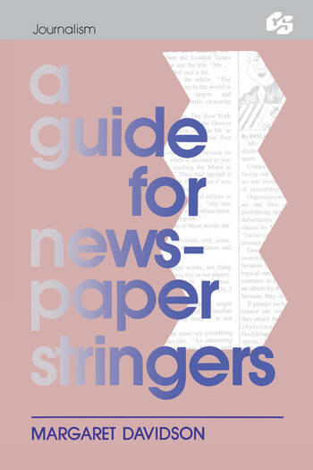 A Guide for Newspaper Stringers book cover
