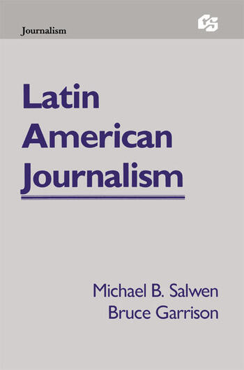 Latin American Journalism book cover