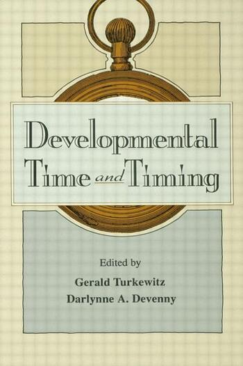 Developmental Time and Timing book cover