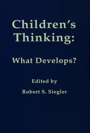 Children's Thinking What Develops? book cover