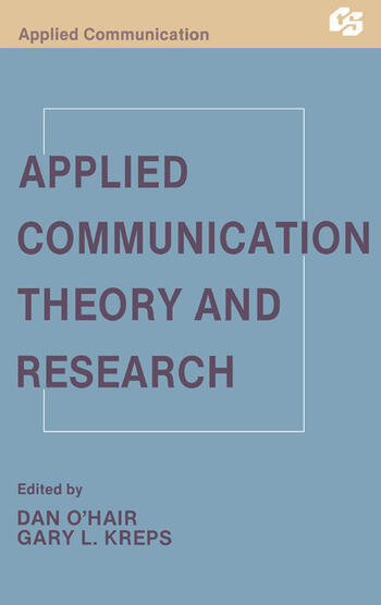Applied Communication Theory and Research book cover