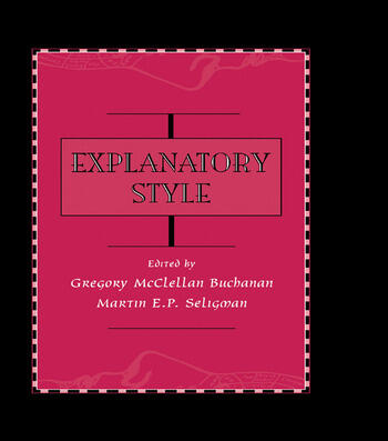 Explanatory Style book cover