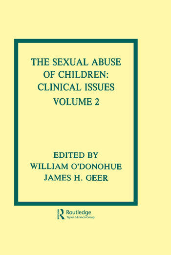 The Sexual Abuse of Children Volume II: Clinical Issues book cover