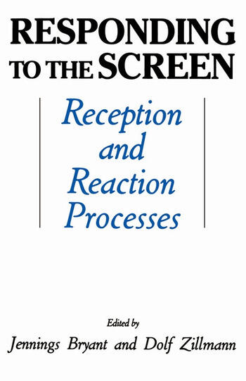 Responding To the Screen Reception and Reaction Processes book cover