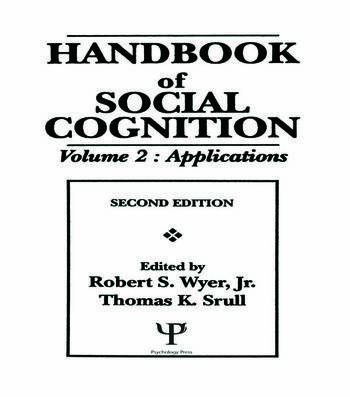 Handbook of Social Cognition Volume 2: Applications book cover