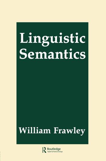 Linguistic Semantics book cover