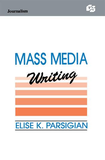 Mass Media Writing book cover