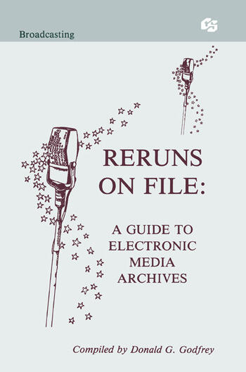 Reruns on File A Guide To Electronic Media Archives book cover