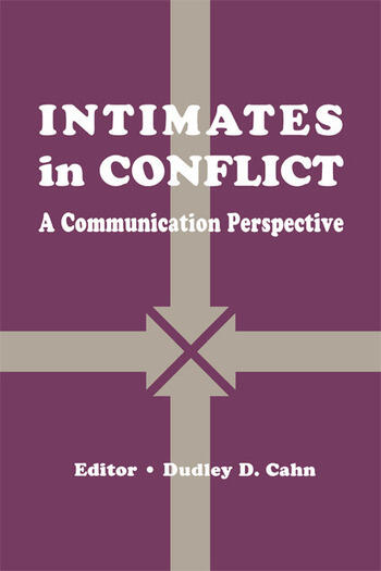 intimates in Conflict A Communication Perspective book cover
