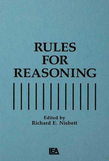 Rules for Reasoning book cover