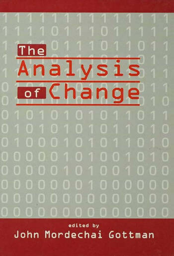 The Analysis of Change book cover
