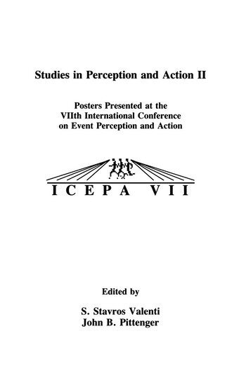 Studies in Perception and Action II Posters Presented at the VIIth international Conference on Event Perception and Action book cover