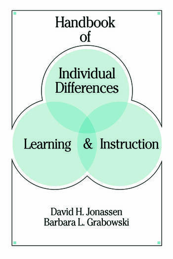Handbook of Individual Differences, Learning, and Instruction book cover