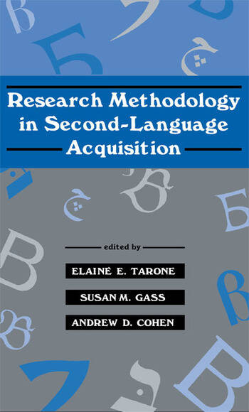 Research Methodology in Second-Language Acquisition book cover