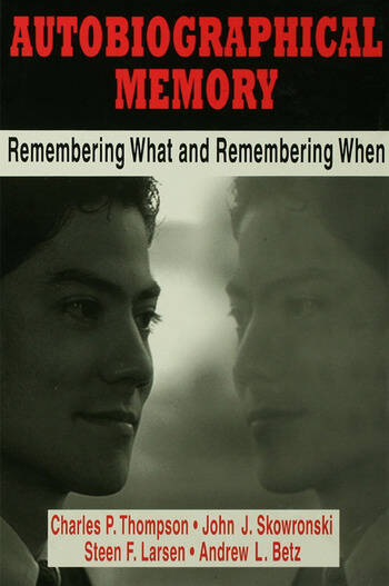 Autobiographical Memory Remembering What and Remembering When book cover