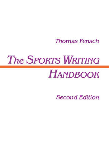 The Sports Writing Handbook book cover