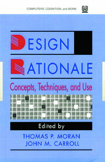 Design Rationale Concepts, Techniques, and Use book cover