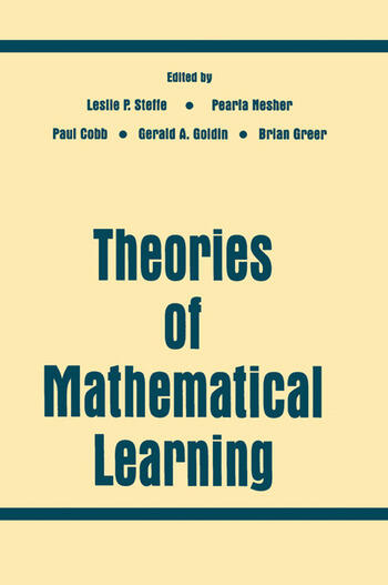 Theories of Mathematical Learning book cover
