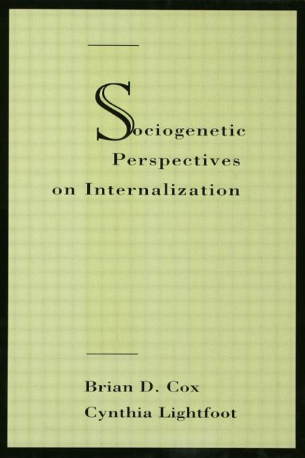 Sociogenetic Perspectives on Internalization book cover