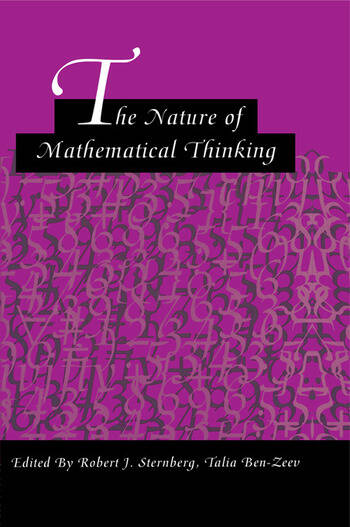 The Nature of Mathematical Thinking book cover