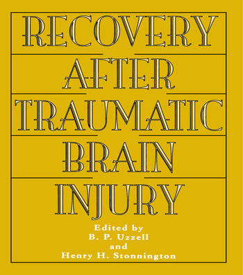 Recovery After Traumatic Brain Injury book cover
