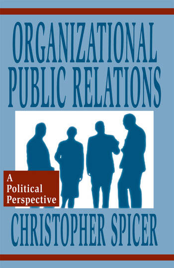 Organizational Public Relations A Political Perspective book cover