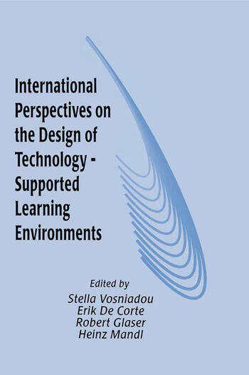International Perspectives on the Design of Technology-supported Learning Environments book cover