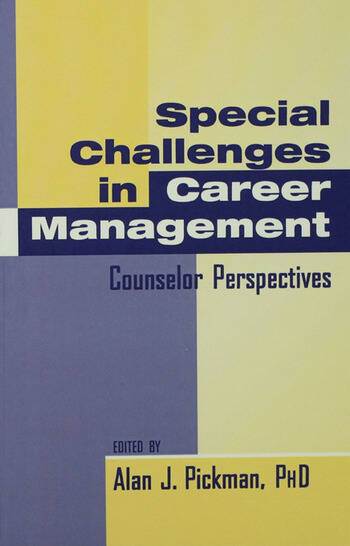 Special Challenges in Career Management Counselor Perspectives book cover