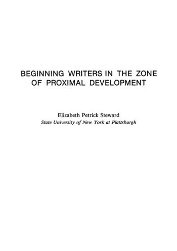 Beginning Writers in the Zone of Proximal Development book cover