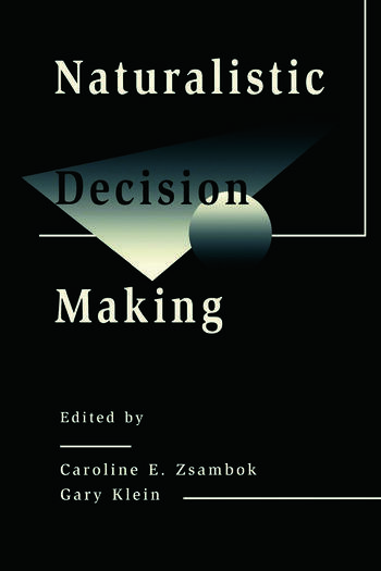 Naturalistic Decision Making book cover