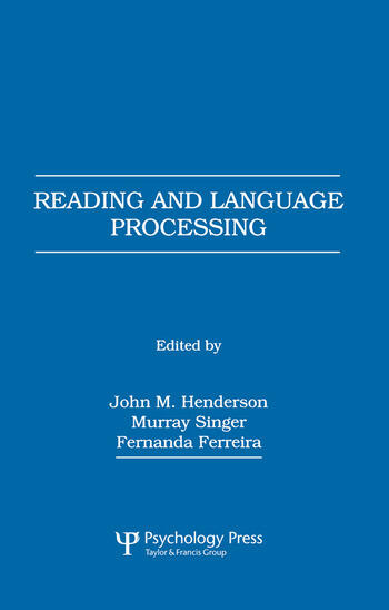 Reading and Language Processing book cover