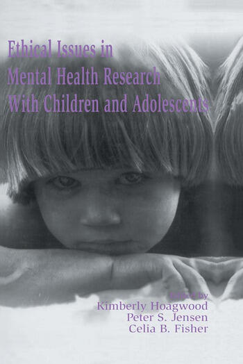 Ethical Issues in Mental Health Research With Children and Adolescents book cover