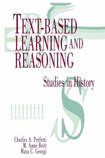 Text-based Learning and Reasoning Studies in History book cover