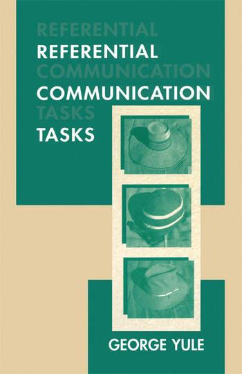 Referential Communication Tasks book cover