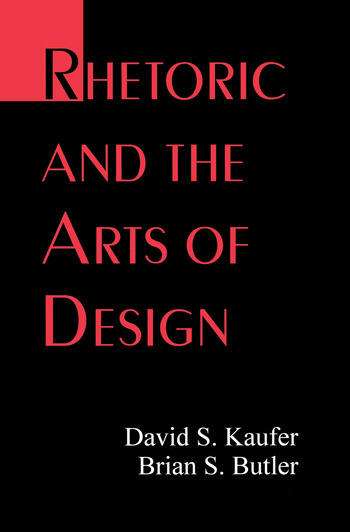 Rhetoric and the Arts of Design book cover